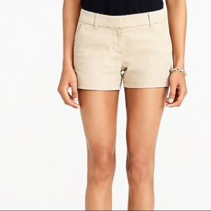 J. Crew Broken-In Chino Khaki Shorts